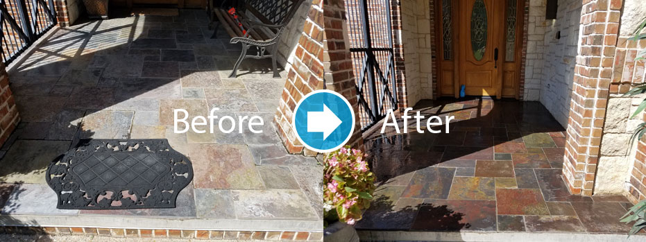 patio cleaning and sealing company Charlotte NC