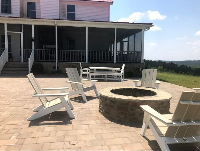 Custom Patio and Hardscape Living Space on Lake Wateree Thumbnail