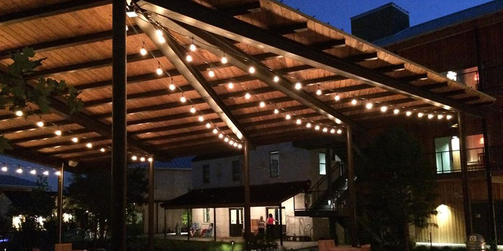festive patio lighting Columbia SC