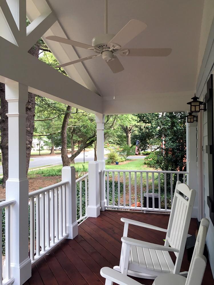Charlotte front porch