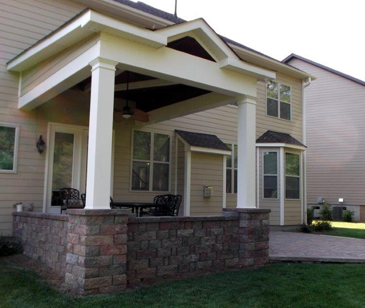 Mint Hill porch design