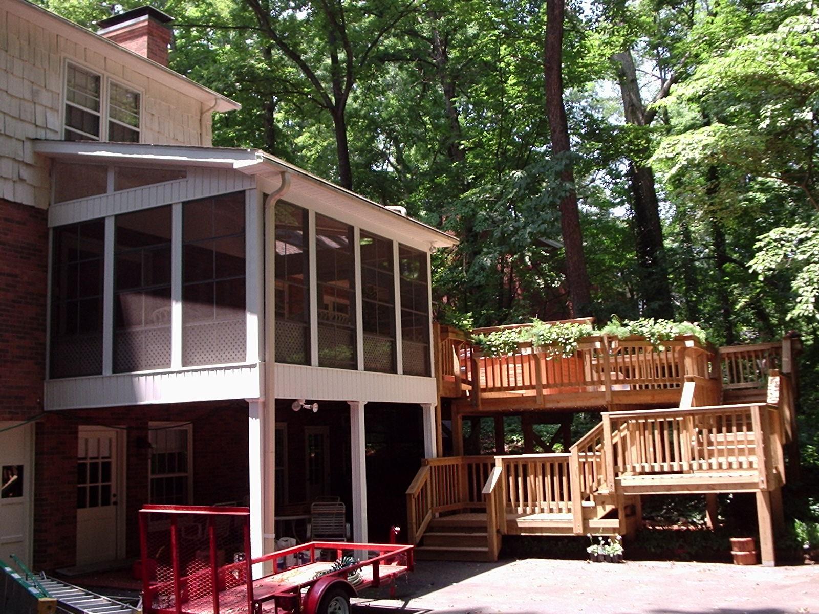 Winston Salem porch builder