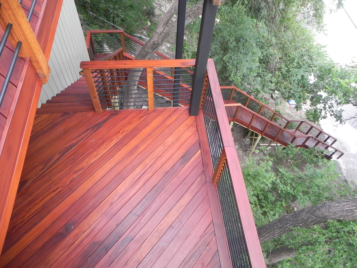 Salt Lake Wood Decking Is A Classic Choice With Many