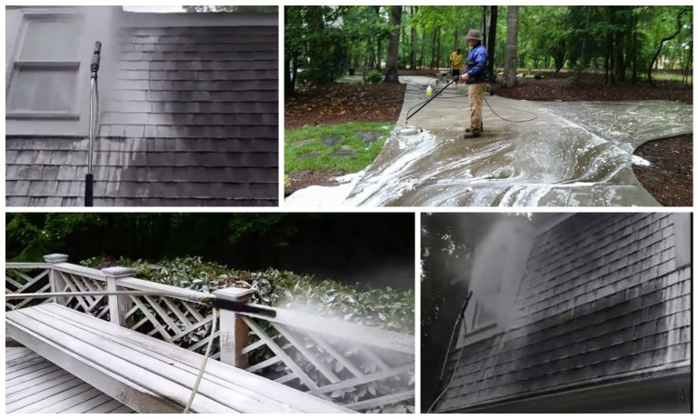 deck and exterior cleaning Charlotte NC