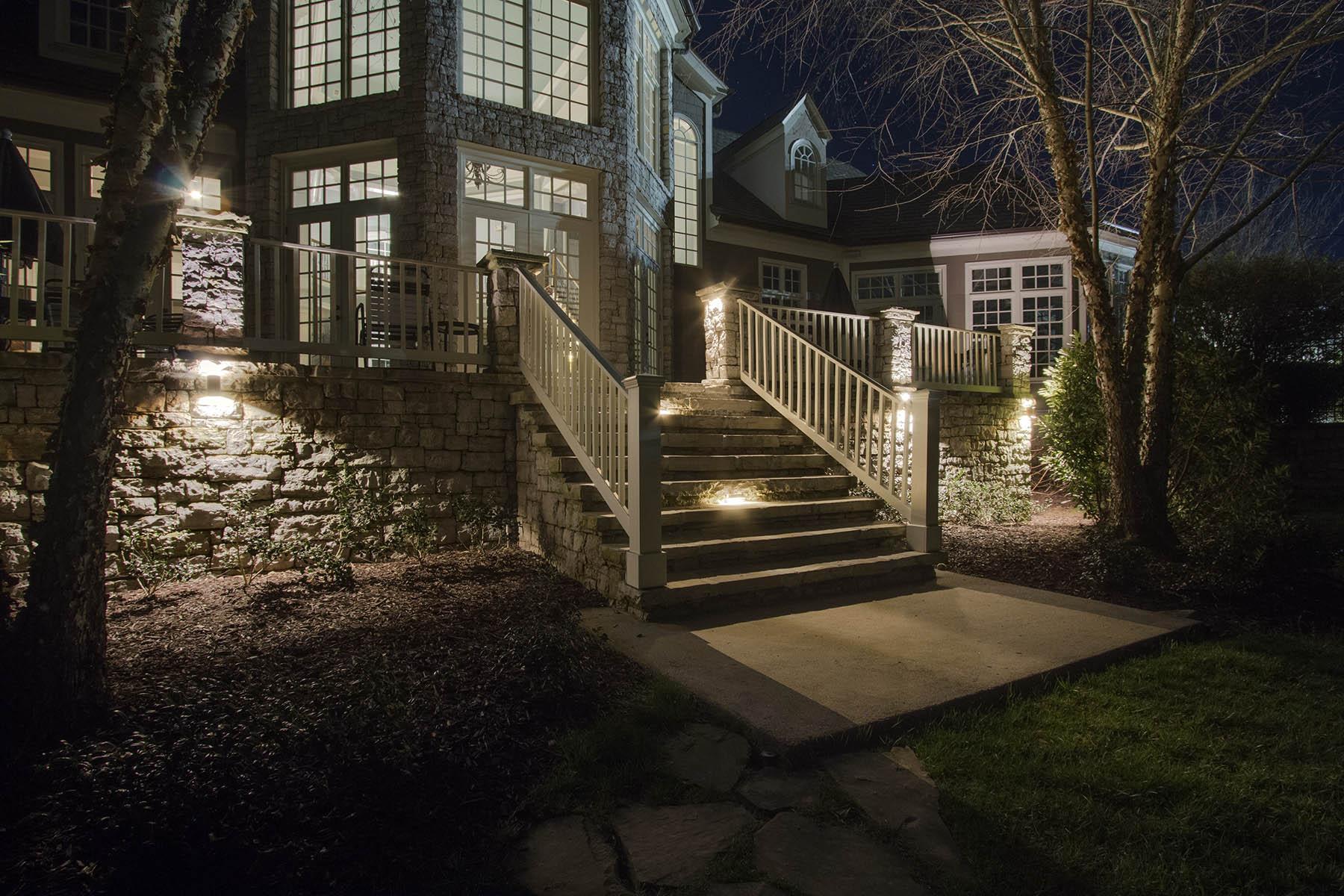 outdoor LED lighting Richmond Charlottesville