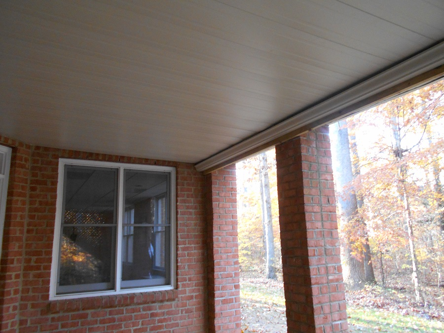 dry patio underdeck drainage system