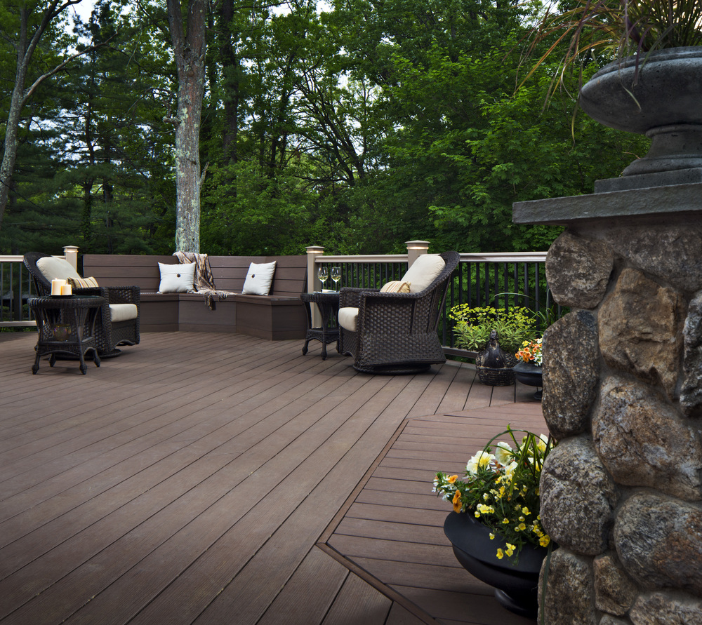 Low Maintenance Synthetic Decking Options For Care Free