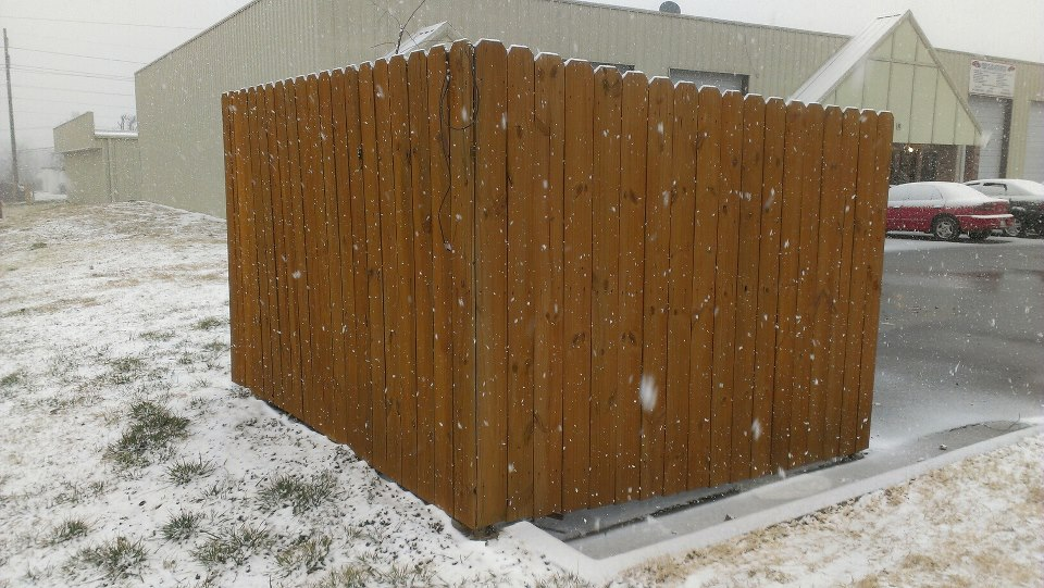 Commercial Fence Cleaning