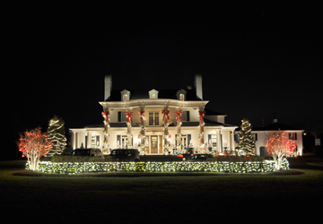 Charleston sc holiday outdoor lighting commercial lighting decorating your business for the holidays portrays a festive holiday spirit for your employees and clients aloadofball Choice Image