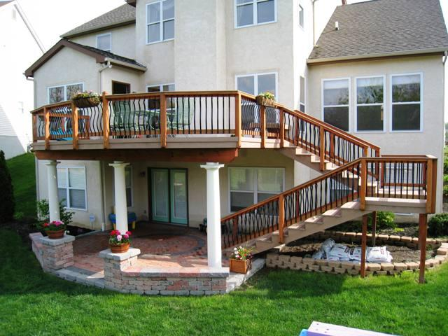 Elevated-deck-with-patio-beneath