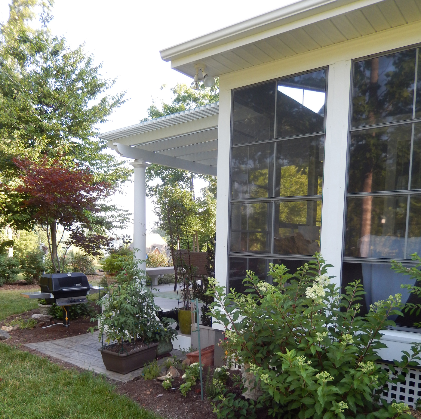 6 reasons why fall is the perfect time to build a screened for Porch durham
