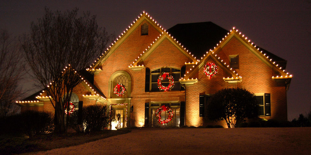outdoor Christmas lighting installer Columbia SC