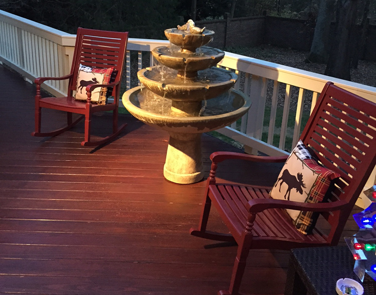 Charlotte wood deck builder