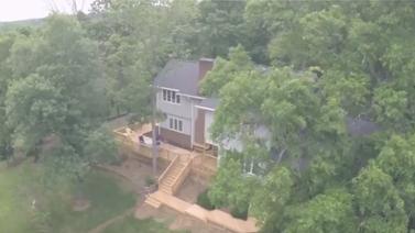 Drone tour of Winston Salem custom deck by Archadeck  Thumbnail