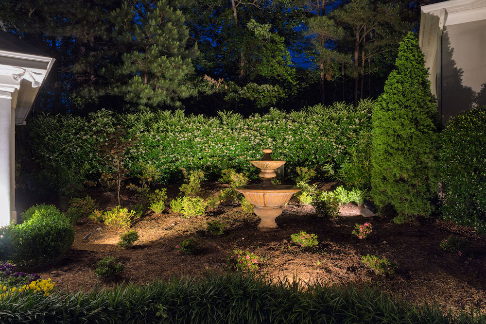 whereas outdoor led lighting for the front of your home is about highlighting your house and its key features garden lighting is about telling a story and - Garden Lighting