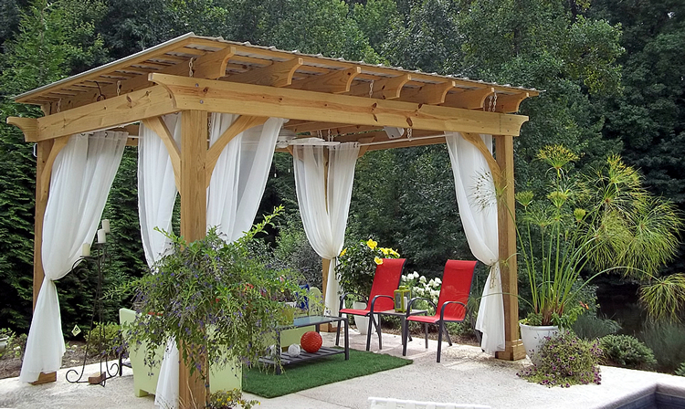 Greensboro pergola builder