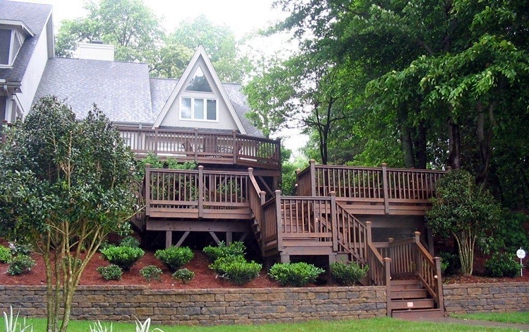 composite decks are ultimately low-maintenance