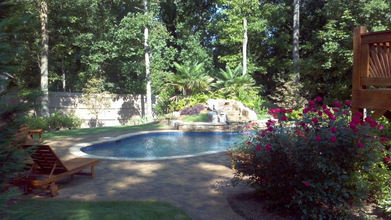 pool deck cleaning Charlotte NC
