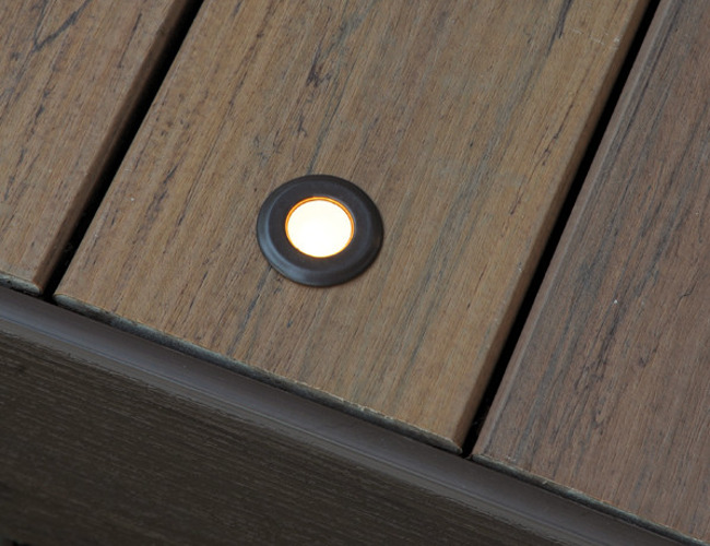These Are Mounted Flush With The Deck Surface. They Create Soft Light And  Give An Ambient Up Glow. Theyu0027re Great For Marking The Perimeter Of The Deck  Or ...