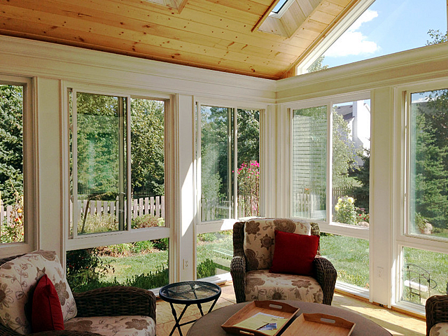 Chicagoland sunroom interior