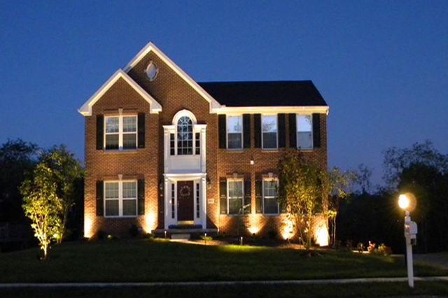 home exterior lighting cranberry township