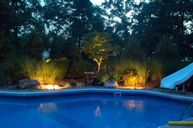Landscape lighting and pool lighting