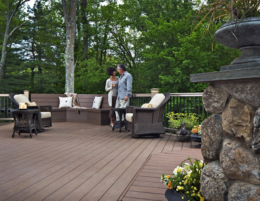 Akron oh deck builder for How much does composite decking weigh