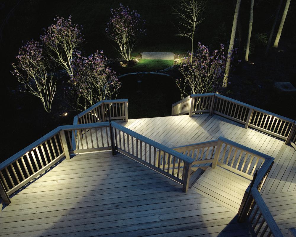 Patio Deck Lighting