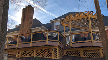 Greensboro Low-maintenance Deck and Pergola Thumbnail
