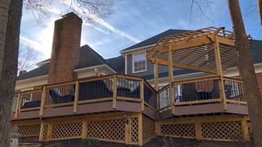 Greensboro Low-maintenance Deck and Pergola Thumbnail