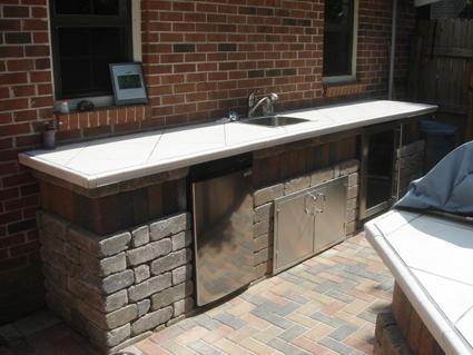 Diy Concrete Countertops Outdoor Kitchen