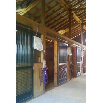 Mosquito misting systems for barns