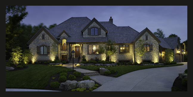 Outdoor lighting by outdoor lighting perspectives of for Landscape lighting plan