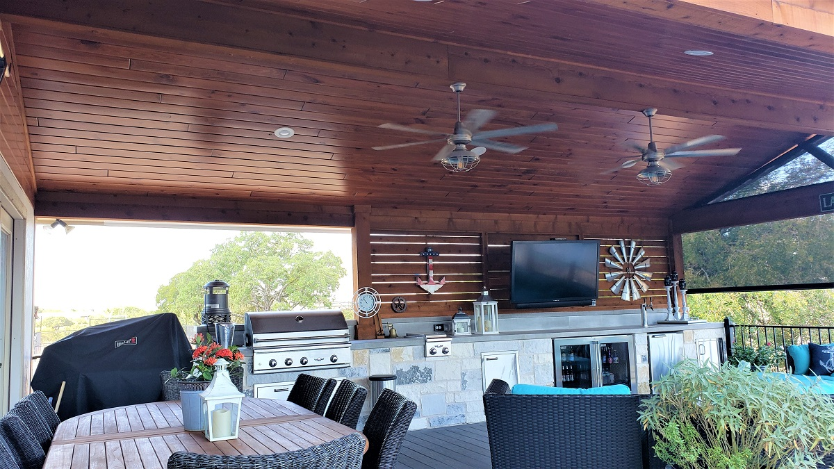 Look-at-the-beautiful-ceiling-we-installed-in-the-covered-porch-using-Synergy-Wood