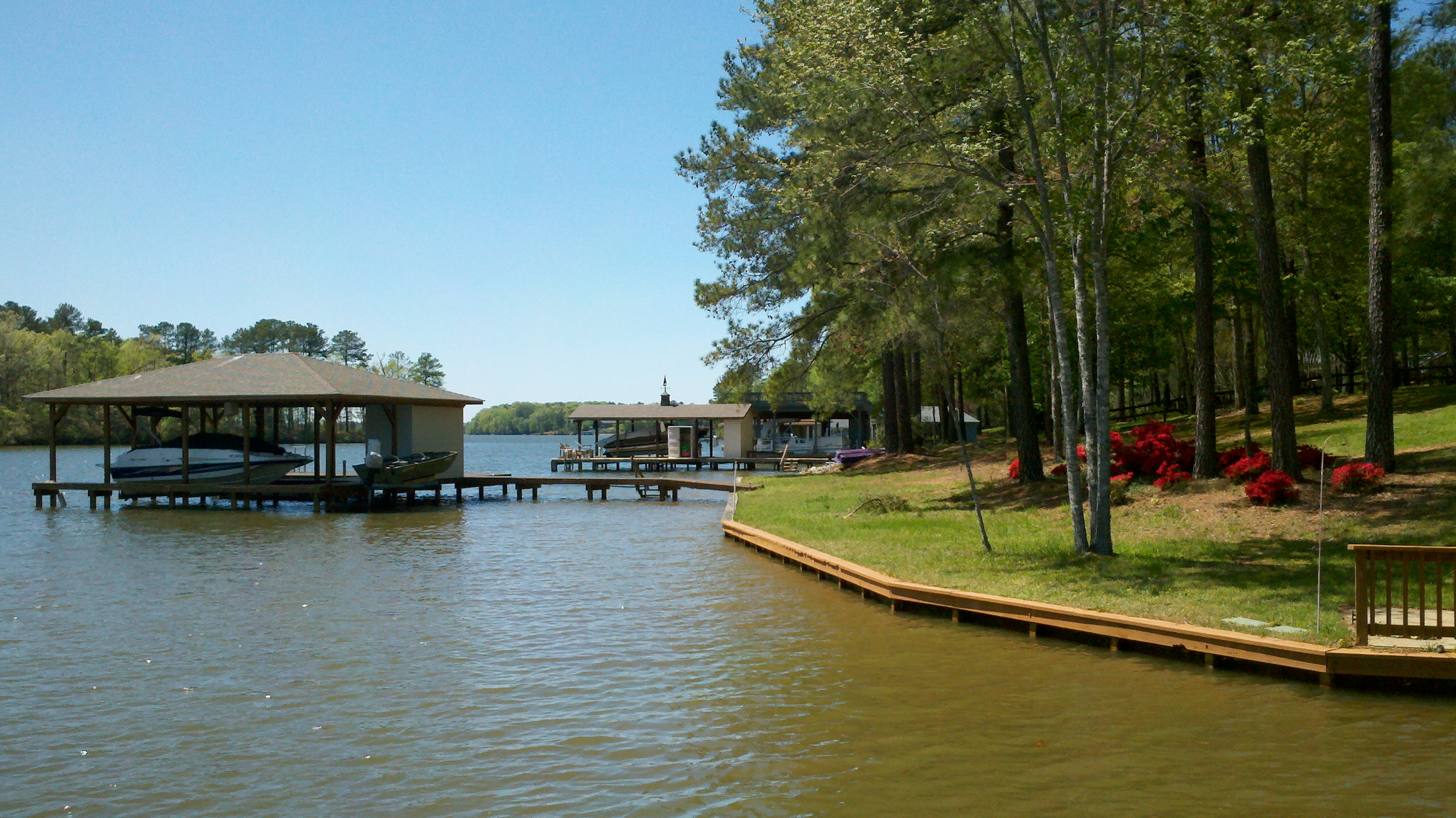 Lake Gaston lakefront
