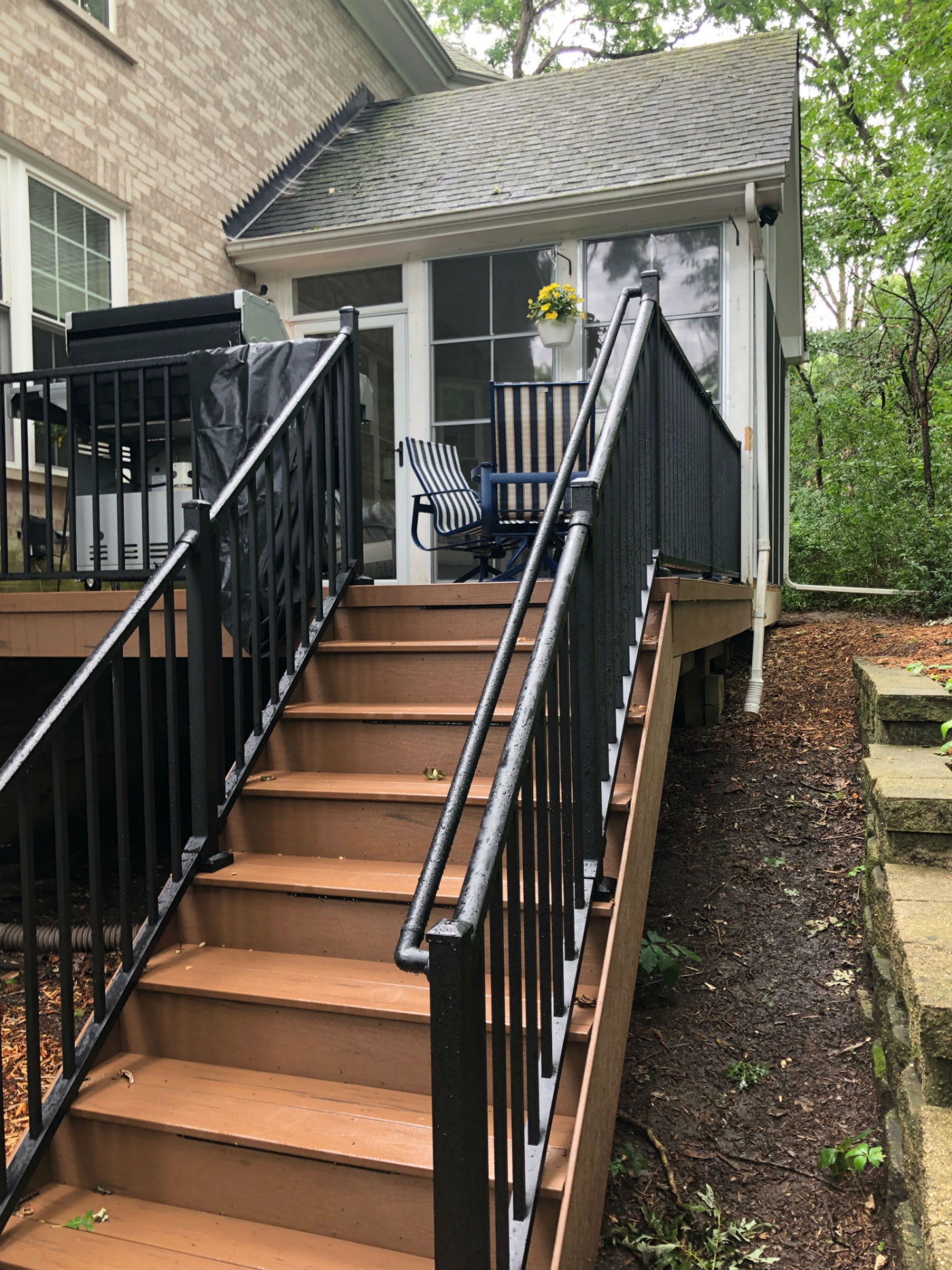 TimberTech low-maintenance deck