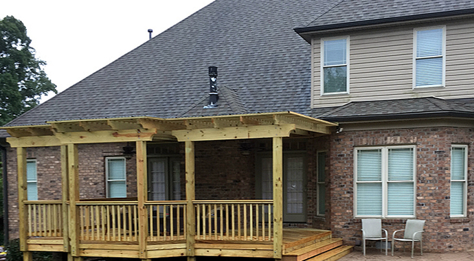 Greensboro deck builder