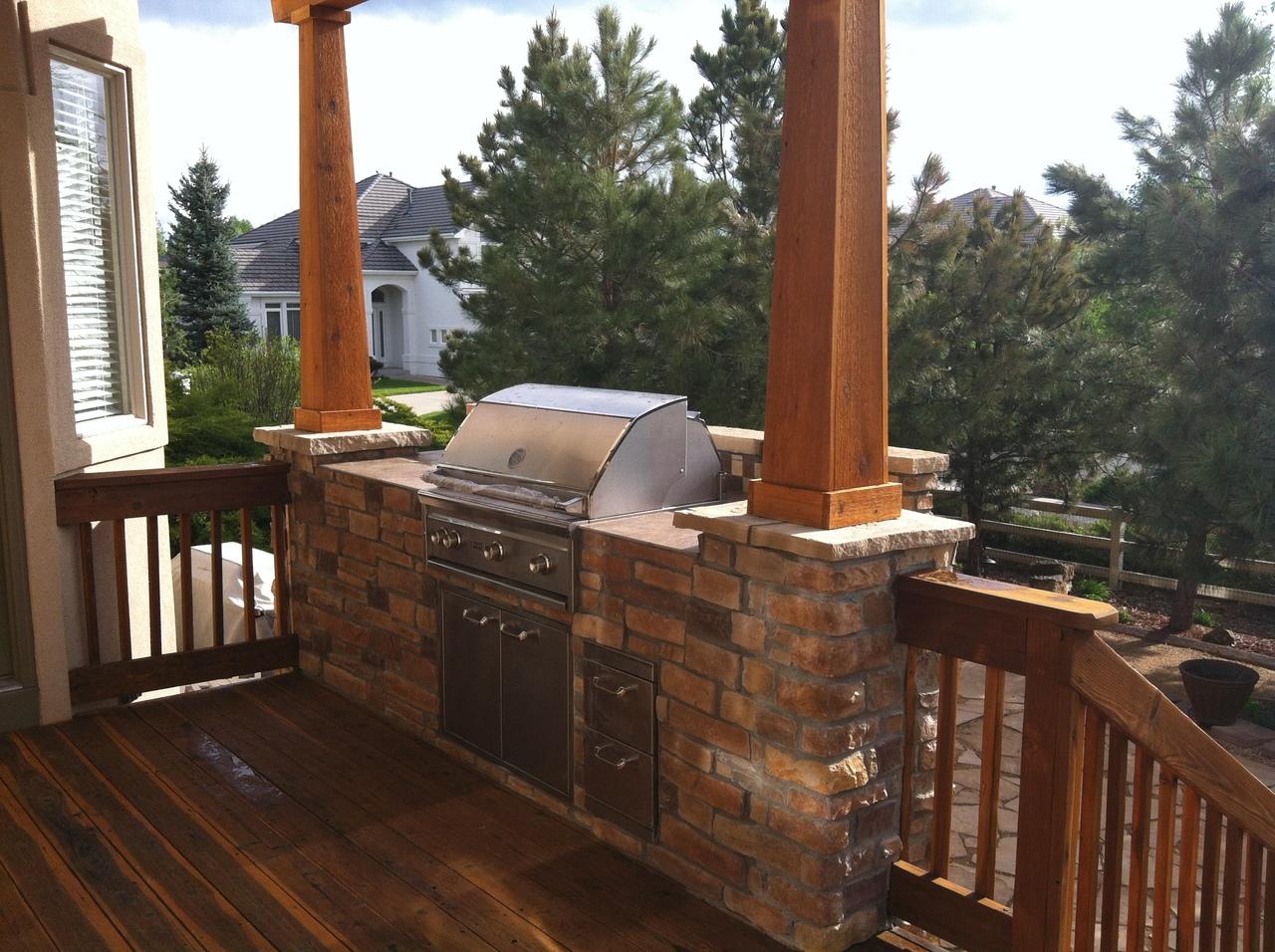 deck kitchen