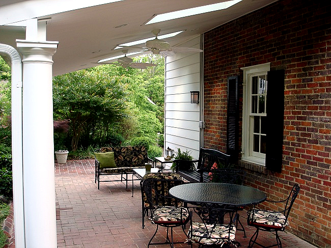 Greensboro covered patio