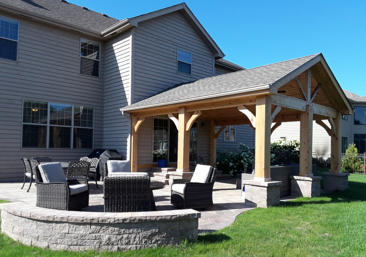 Open Porch & Belgard Patio in Naperville, IL Thumbnail