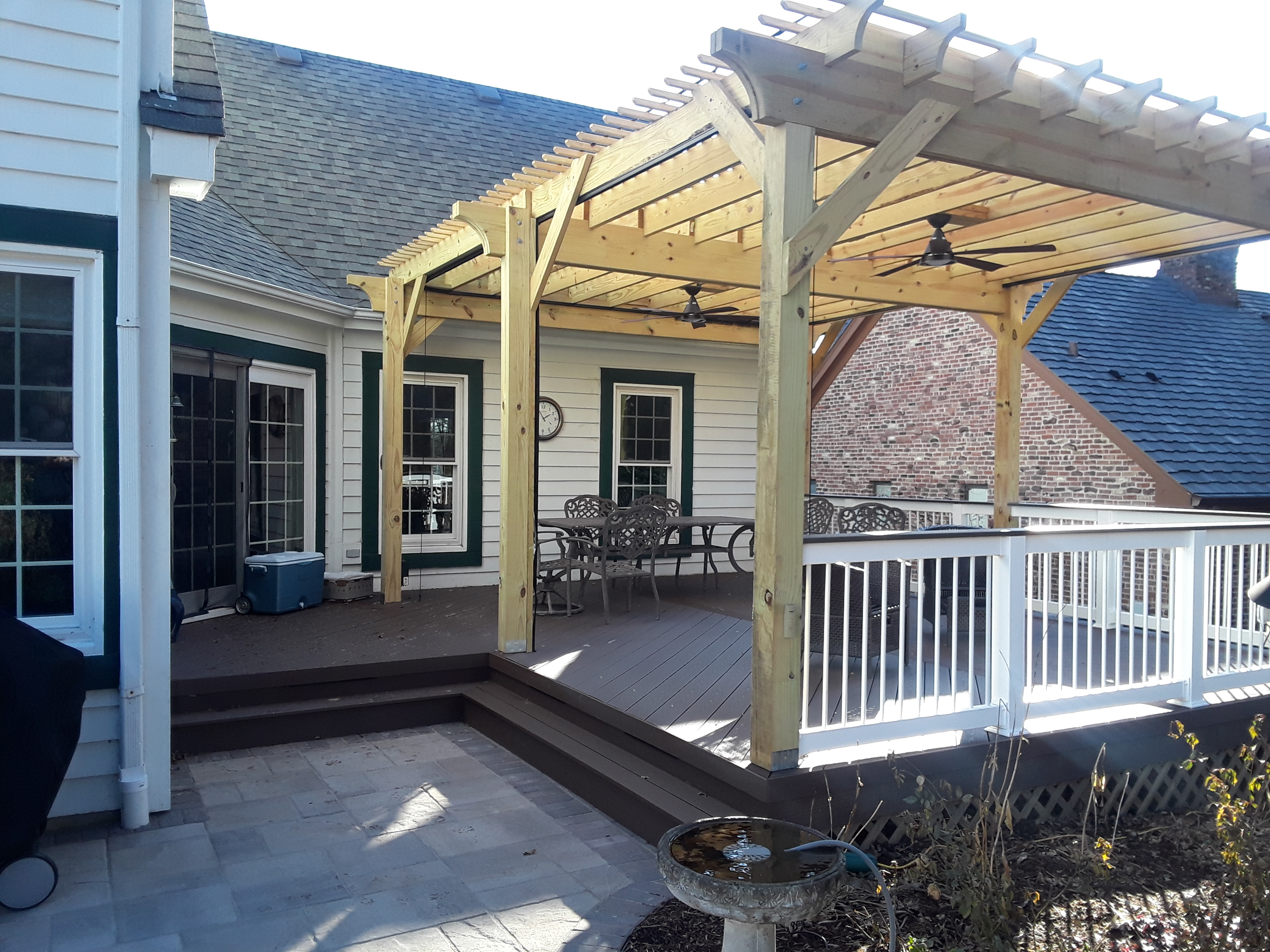Low-maintenance Deck, Patio, and Pergola Project in Geneva, IL  Thumbnail
