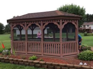Pavilion Pressure Washing and Restoration