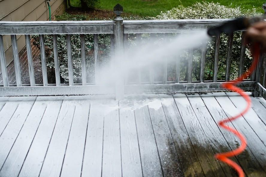 Deck Restoration - Pre Soak Foam