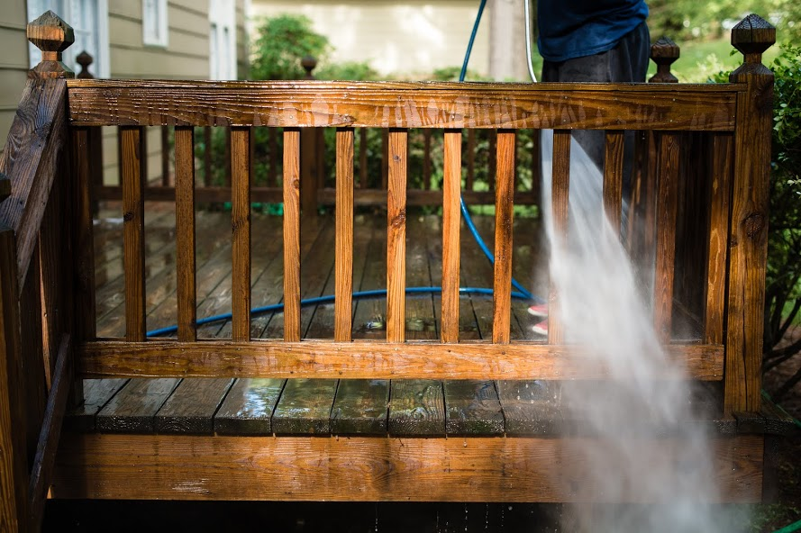 Deck Restoration - Deck Sealing