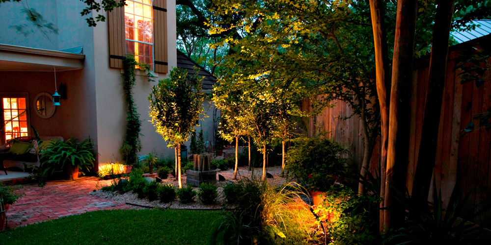 Lexington SC landscape lighting
