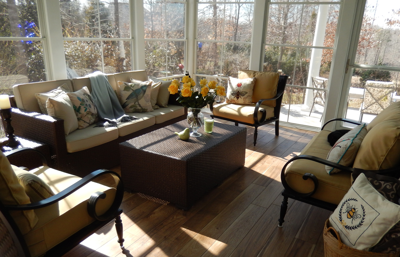 We Can Create The Necessary Framework To Install Floor To Ceiling Windows, Making  Your Stone Or Paver Patio More Comfortable In ...