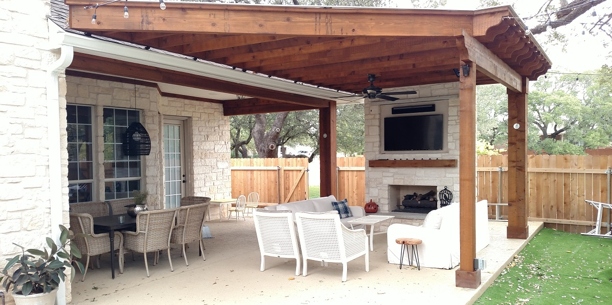 Archadeck Porch And Pergola Featured In Round Rock Tx