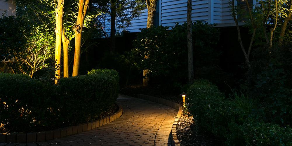 pathway lighting installer Myrtle Beach