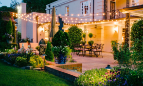 Dress up your yard for your next outdoor party outdoor lighting dress up your yard for your next outdoor party aloadofball Image collections