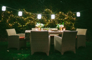 Dress up your yard for your next outdoor party outdoor lighting lastly outdoor lighting perspectives offers illuminated outdoor accessories through our partnership with casuwel outdoor furniture mozeypictures Images